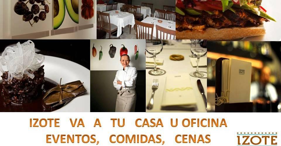 Restaurante Izote by Chef Patricia Quintana va a tu casa