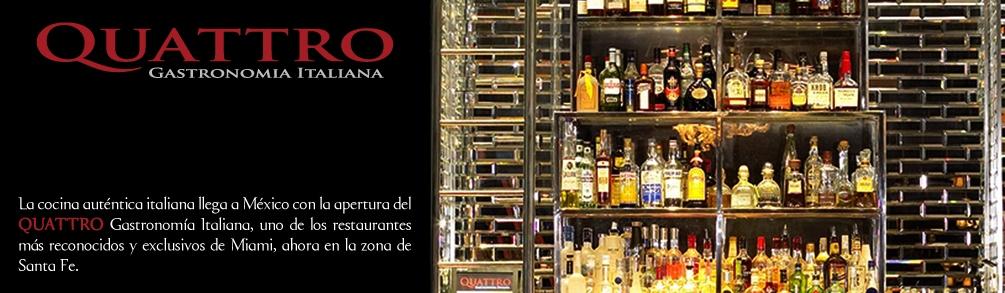 "Restaurante ""Quattro"" abre sus puertas en J.W Marriot Sta. Fé"