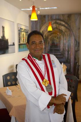#Chef José Burela Picazzo