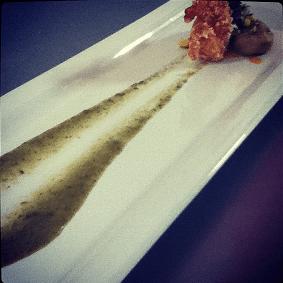 """Receta """"Camarones con costra de Chicharrón en salsa a la Huasteca"""" by Chef Jesús I. Argüello @chefitocotzivan"""