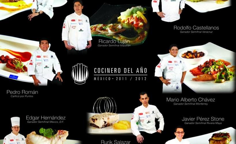 Conoce a los finalistas que se disputan el título «Cocinero del Año 2012» @cocineromexico @alimentariamx