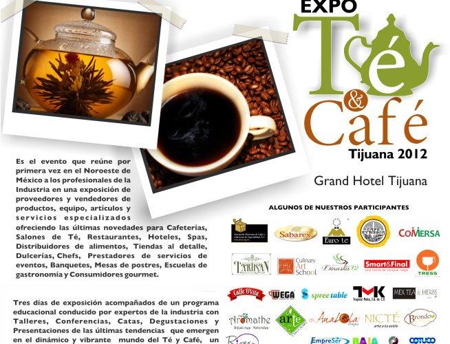 Expo Té & Café 20 al 22 de Julio 2012 Tijuana