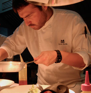 Chef Giacomo Bocchio en Festival Mistura @MisturaPeru