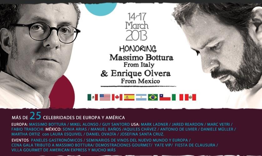 Quiénes serán Celebrity Chefs en Cancún Riviera Maya Wine & Food Festival 2013 @CRMWineFoodFest