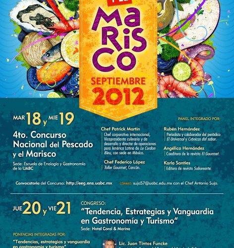 Hoy inicia XXXIV Feria del Pescado y el Marisco 18 al 21 Septiembre 2012 Ensenada Baja California
