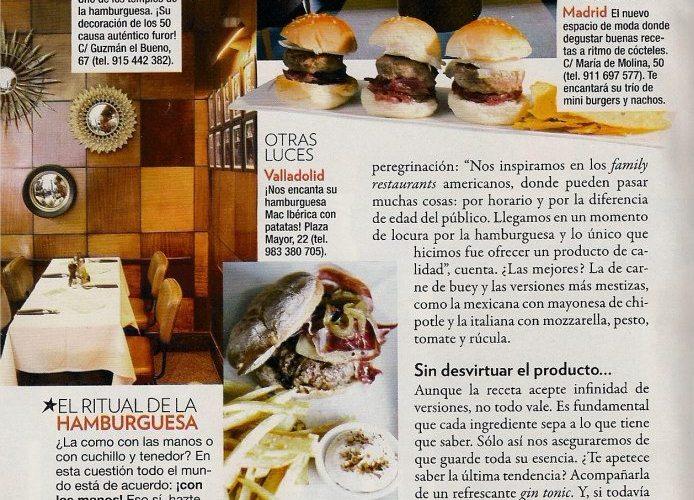 Las mejores 10 Hamburguesas Gourmet de España vía @puturrudefoie @Zurbanos