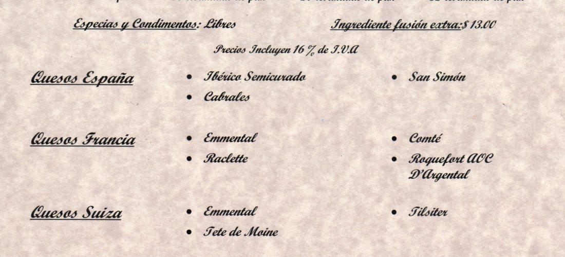 """Menú de entradas """"Xperiencias"""" Hotel Intercontinental Mérida @InterContiMID Martes a Sábado 19:00 a 23:00 hrs"""