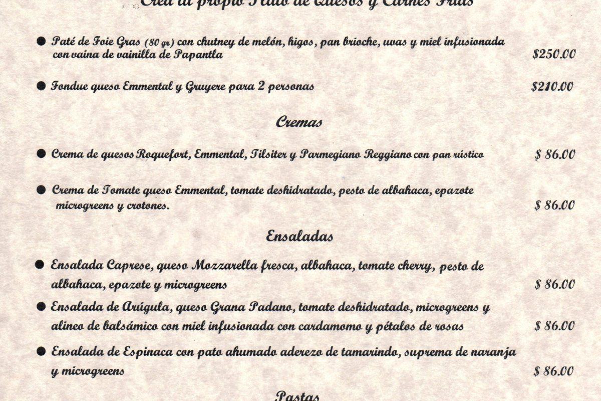 Conoce Menú «Xperiencias» Hotel InterContinental Mérida @InterContiMID Martes a Sábado 19:00 a 23:00 hrs