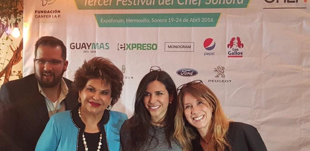 Fundación GANFER presenta Tercer Festival del Chef Sonora 2016