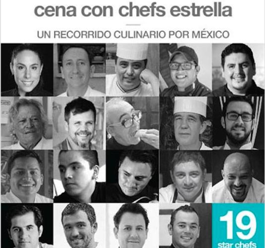 18 DÍAS PARA LA CENA STAR CHEFS EN WINE & FOOD FESTIVAL @WineFoodMX