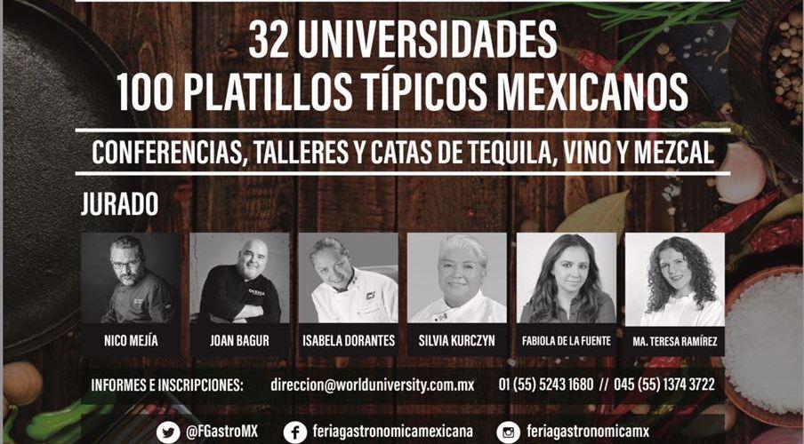 ÁGUILA DORADA, EL CONCURSO CULINARIO QUE REUNIRÁ LOS 100 MEJORES PLATILLOS TÍPICOS MEXICANOS.