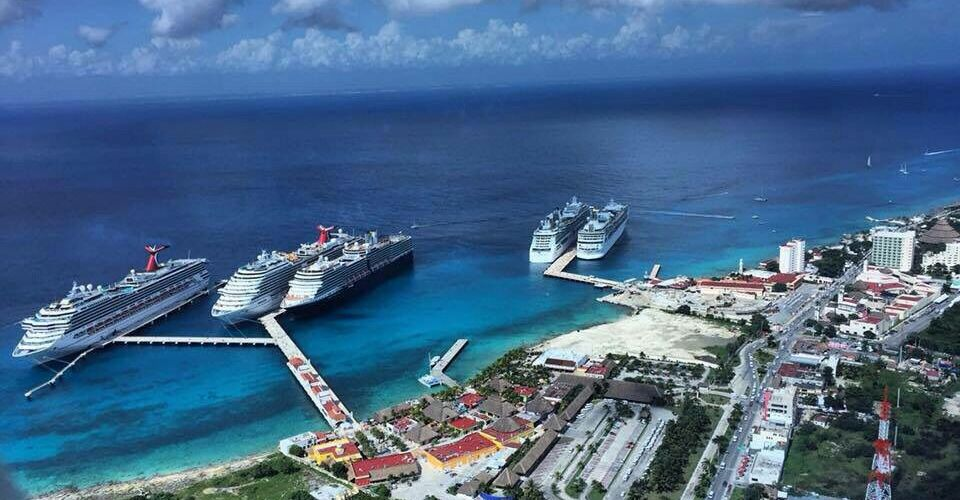Cozumel, Quintana Roo, el principal puerto de cruceros del mundo