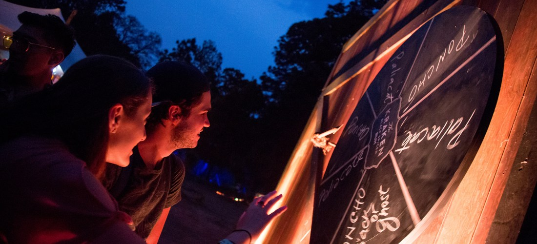 The Kraken Rum deja su marca en el  Festival Bravo