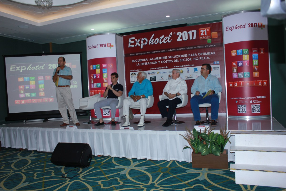 Rueda de prensa @ExpoHotelCancun 2017 novedades de @comalcagourmet #Exphotel2017