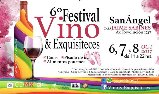 6º Festival @vinoyexquisiteces en #CasaJaimeSabines