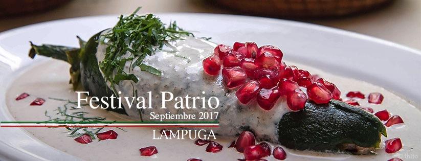Grupo @LampugaMX celebra a México con su delicioso #FestivalPatrio