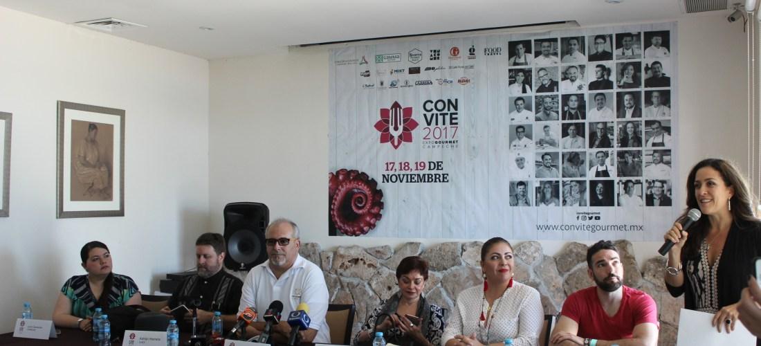Rueda de Prensa @ConviteGourmet 2017 Expo Gourmet #Campeche