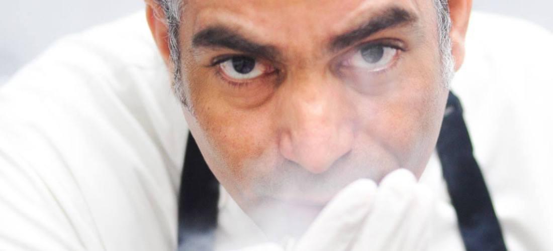 """Chef Veirmar Loyola Fonseca """"Mousse de Frutos Rojos sobre Crocante de Girasol"""" @comalcagourmet"""