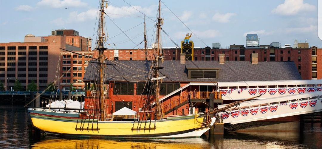 La rebelión del Boston Tea Party