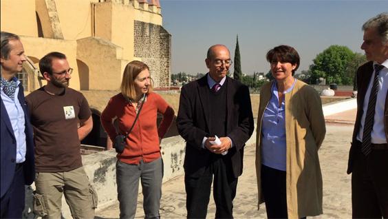 @FranciaenMexico aporta su ayuda a la reconstrucción del patrimonio cultural mexicano