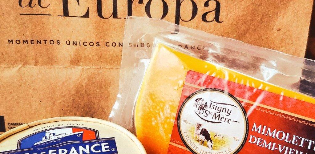 El amor sabe a queso, enamórate de @QuesosDeEuropa