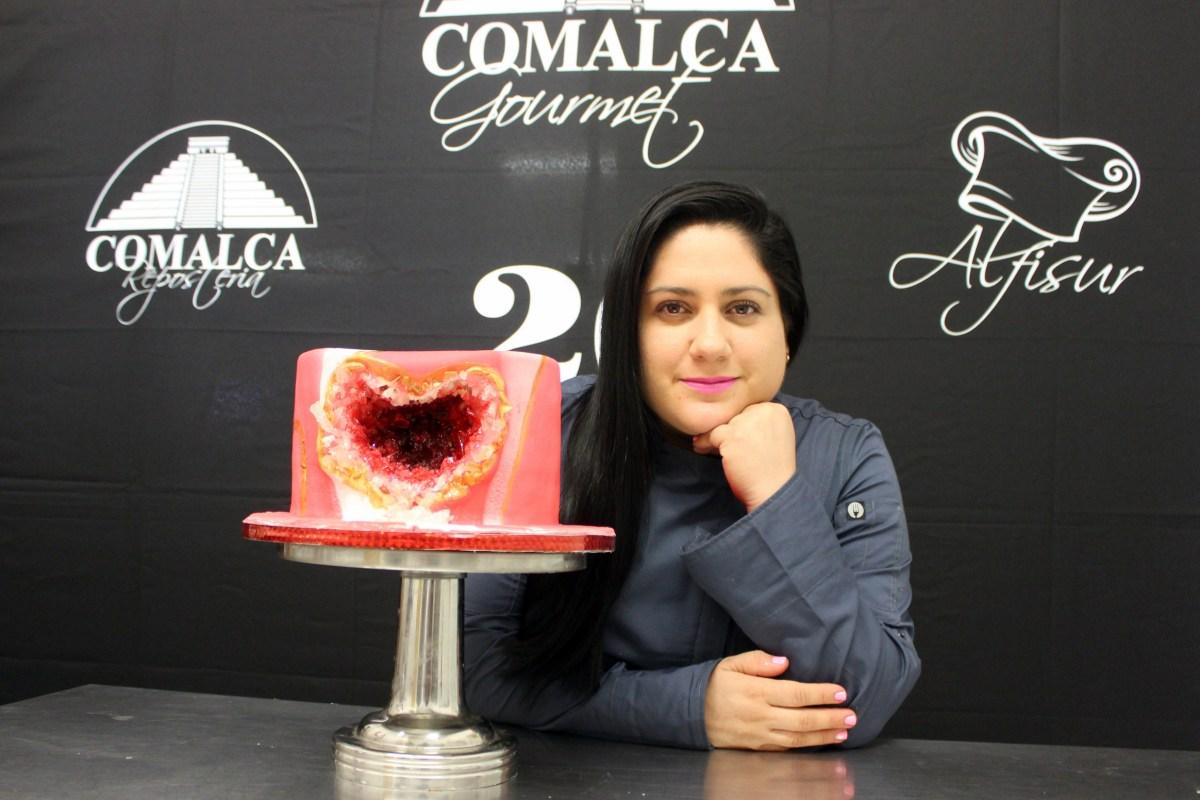 Pastel Geoda by Norka Ruiz #ComalcaRepostería
