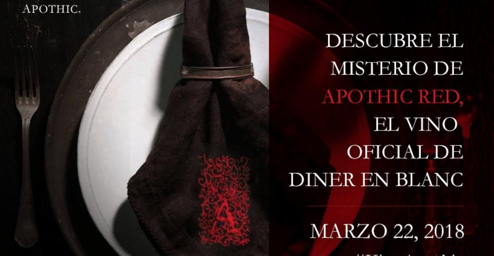 Descubre el Misterio del Apothic Red @DinerEnBlancMx #VinoApothic
