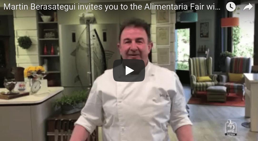 Martin Berasategui te invita a la Feria Alimentaria 2018 con Aljomar.