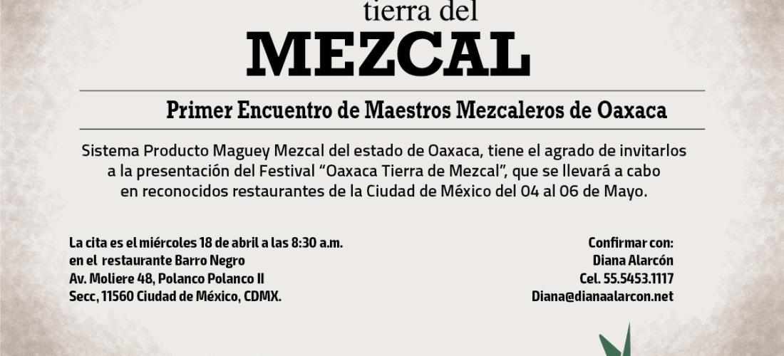 Primer Encuentro de Maestros Mezcaleros de Oaxaca