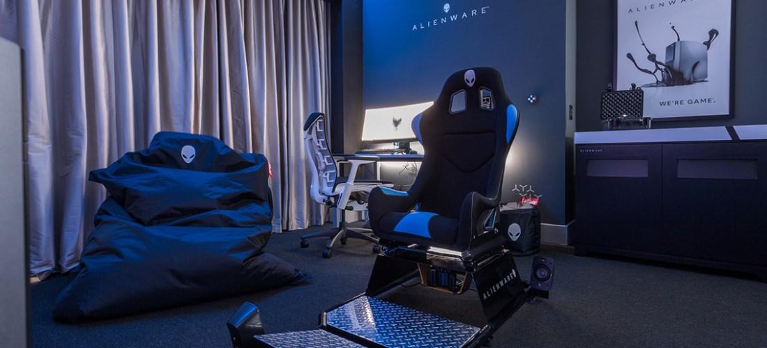 El hotel @HiltonPanama presenta la primera habitación para gaming