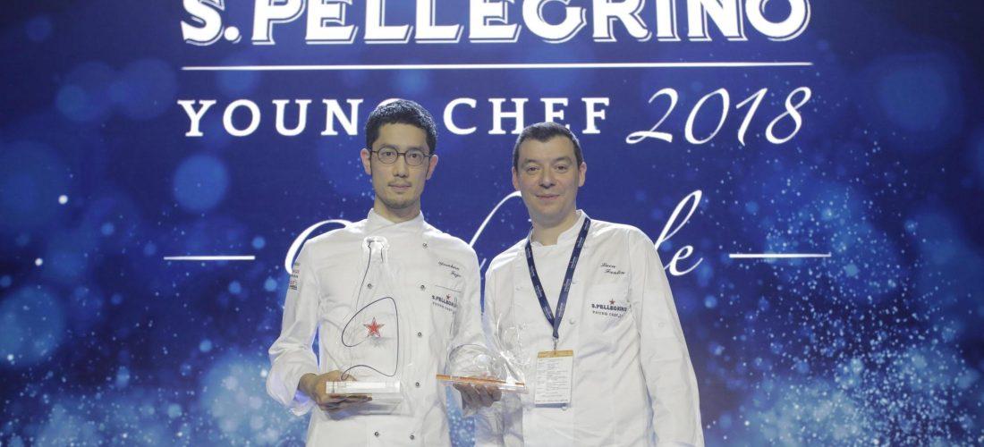 Yasuhiro Fujio representante de Japón es coronado como @SanPellegrino  young chef 2018
