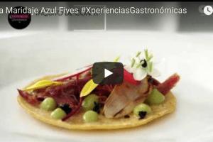 Espectacular Cena Maridaje Azul Fives #XperienciasGastronómicas