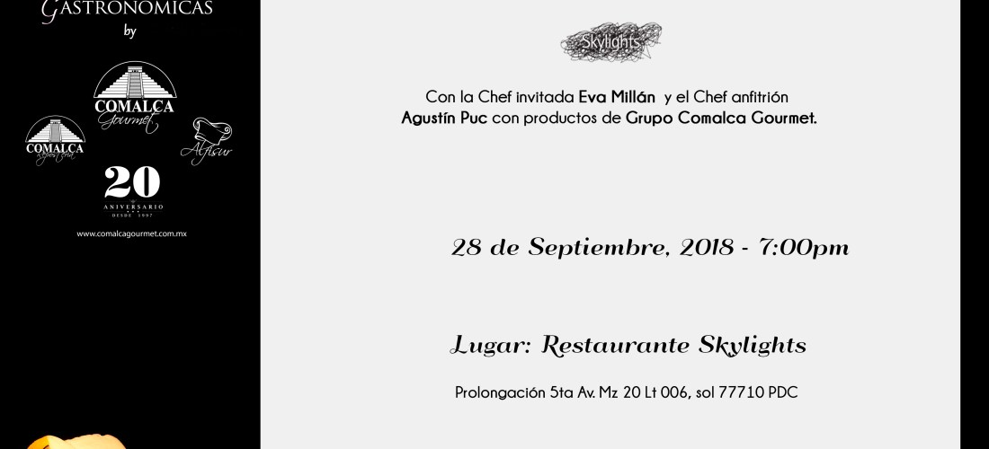Cena México – España 28 Septiembre #XperienciasGastronomicas @PrincessHotels
