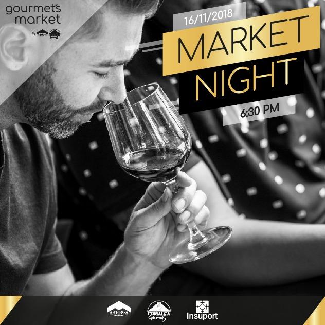 Asiste al Primer Market Night en Gourmet´s Market @comalcagourmet