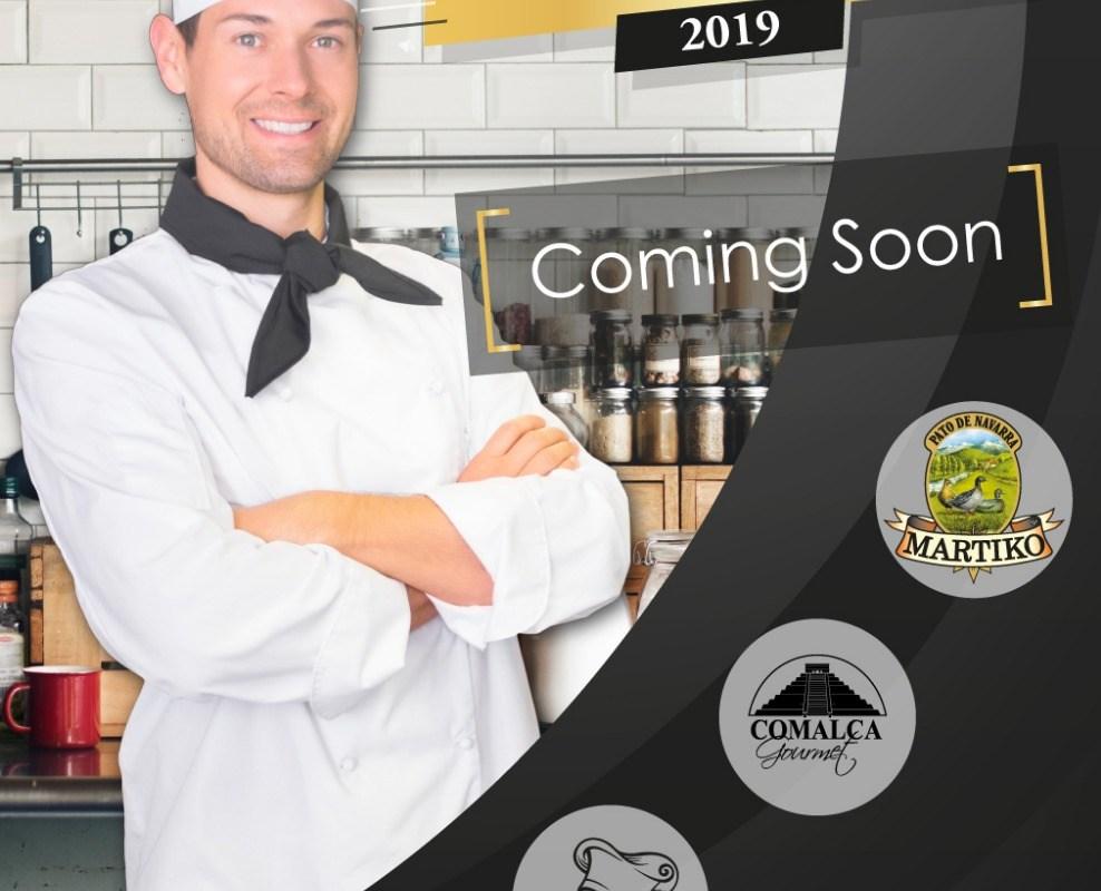 Próximamente Master Celebrity Chef 2019 by Martiko y Grupo Comalca Gourmet