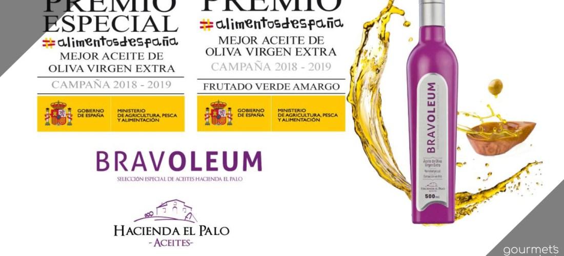 BRAVOLEUM El Mejor Aceite de Oliva Extra Virgen Disponible en Gourmet´s Market  #España