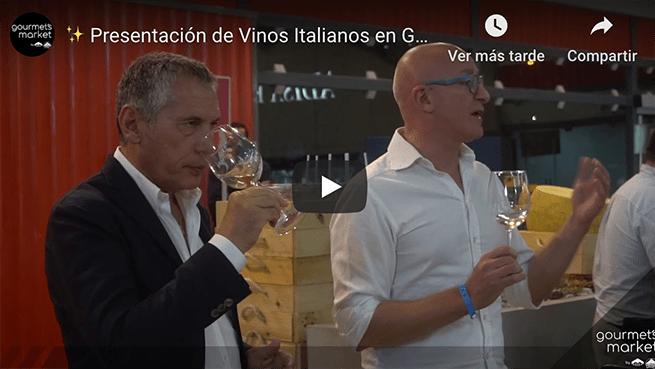 ✨Presentación de Vinos Italianos en Gourmet´s Market✨