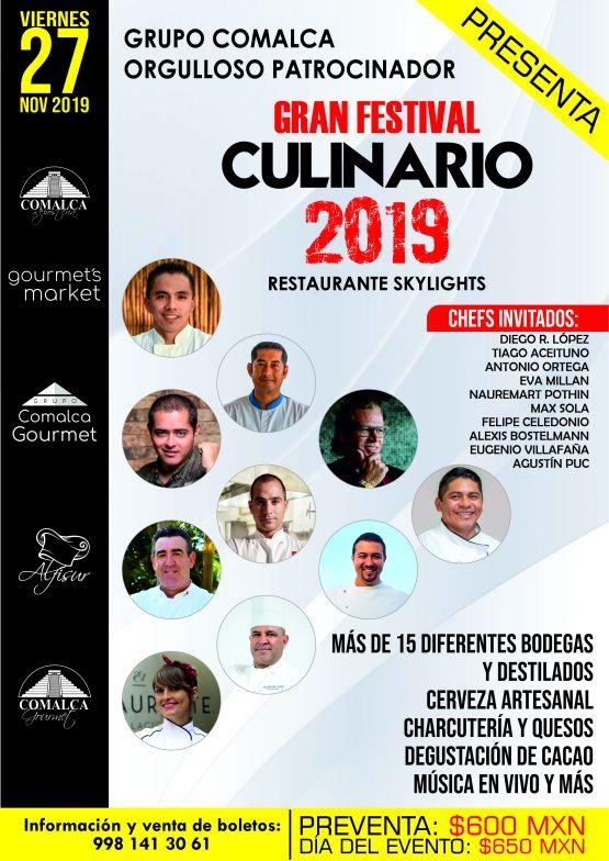 10 chefs festival culinario