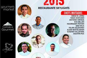 Grupo Comalca Gourmet Orgulloso Patrocinador del Festival de Aniversario Skylights Restaurant by Platinum Yucatan Princess