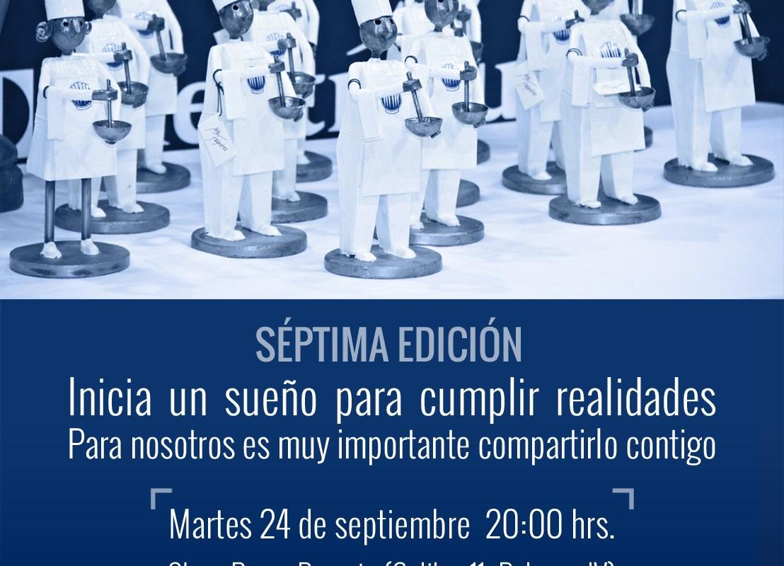 Inicia la convocatoria para participar en la 7ª edición de: Cocinero del Año México 2019-2021