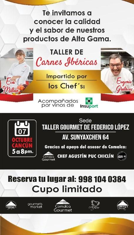 Taller de Carnes Ibéricas en la Cocina del Chef Federico López