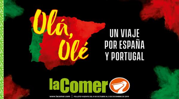 """""""OLÁ, OLÉ. UN VIAJE POR ESPAÑA Y PORTUGAL"""" DE GRUPO LA COMER"""