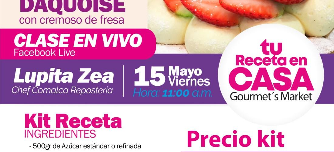 Tarta Daquoise by Comalca Repostería con Lupita Zea