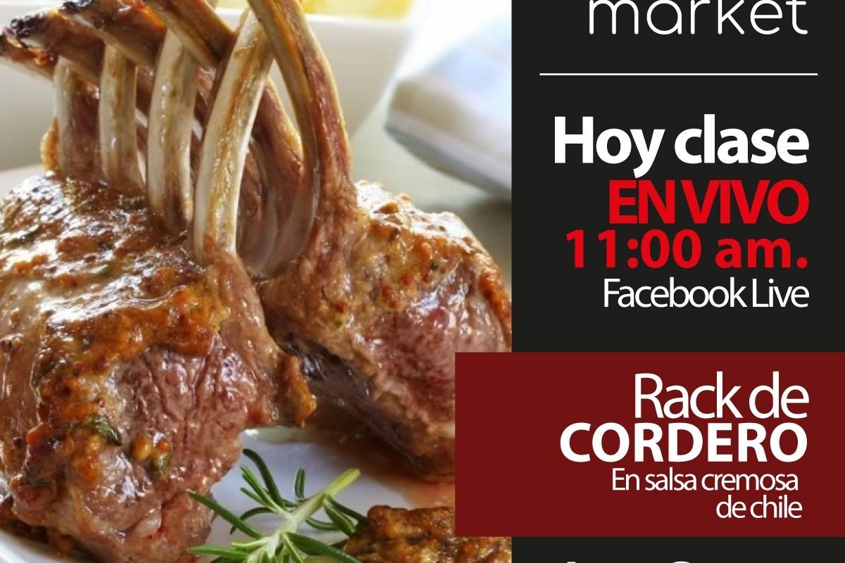 Rack de Cordero en Crema de chiles by Chef Joao Corona #TuRecetaEnCasa
