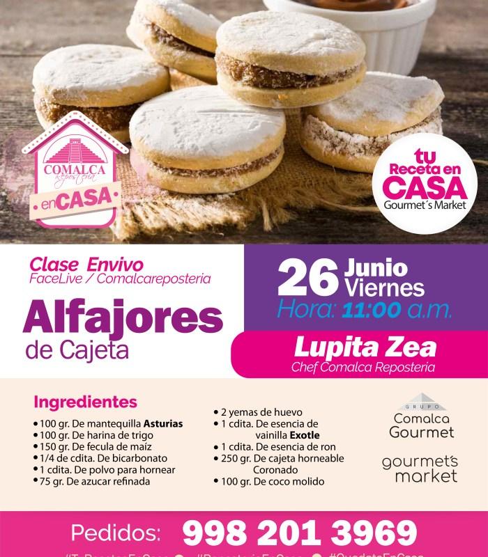 Alfajores de Cajeta by Comalca Repostería con Chef Lupita Zea