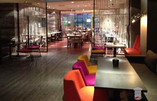Interior del restaurante Tanta