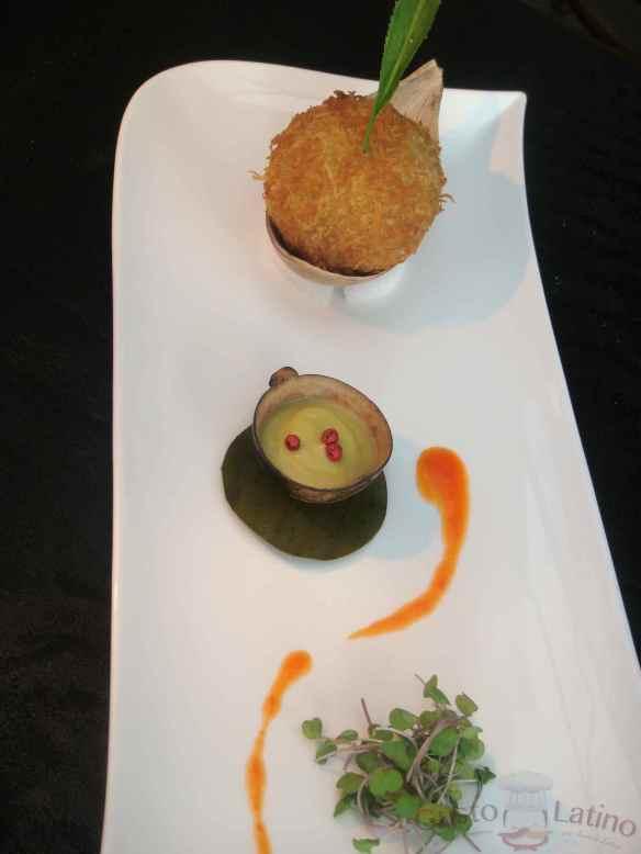 Un plato del chef Carlos Yanguas
