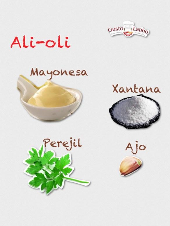 Ingredientes all-i-oli