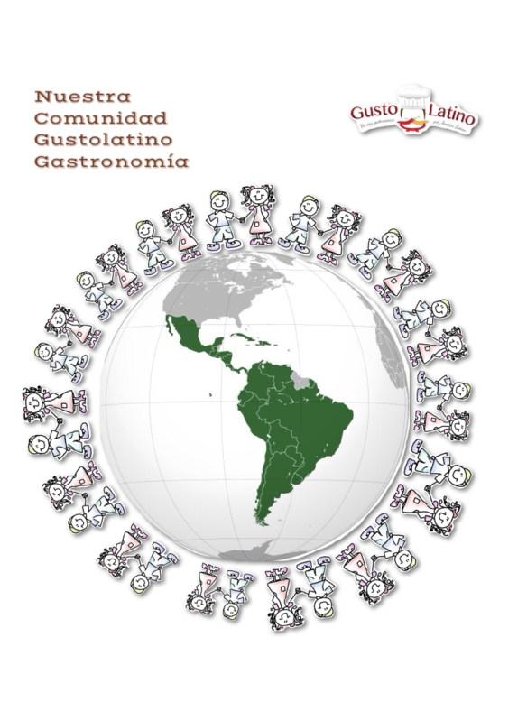 Comunidad Gustolatino Gastronomía