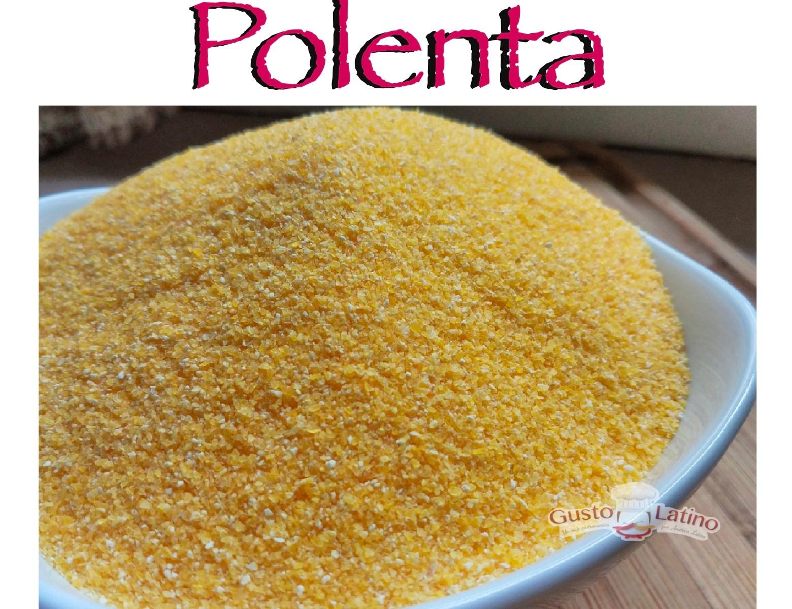 Polenta en América latina y receta